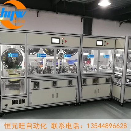 深圳汽车连接器自动组装机